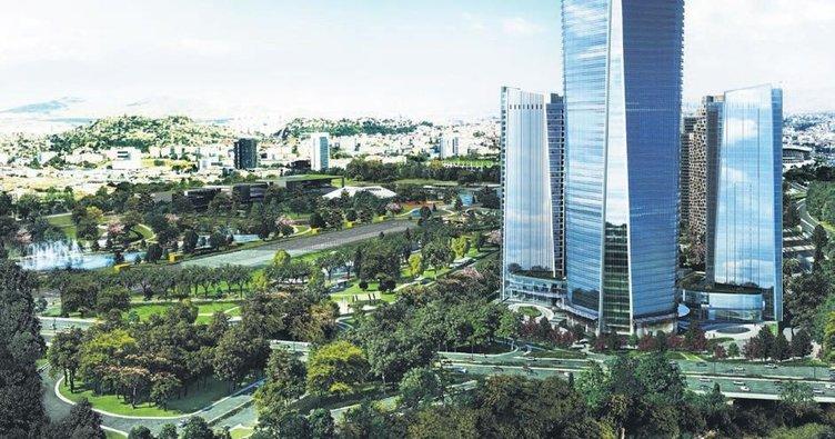 Ankara'nın 'Merkezi'ne 3 yeni iş kulesi dikecek