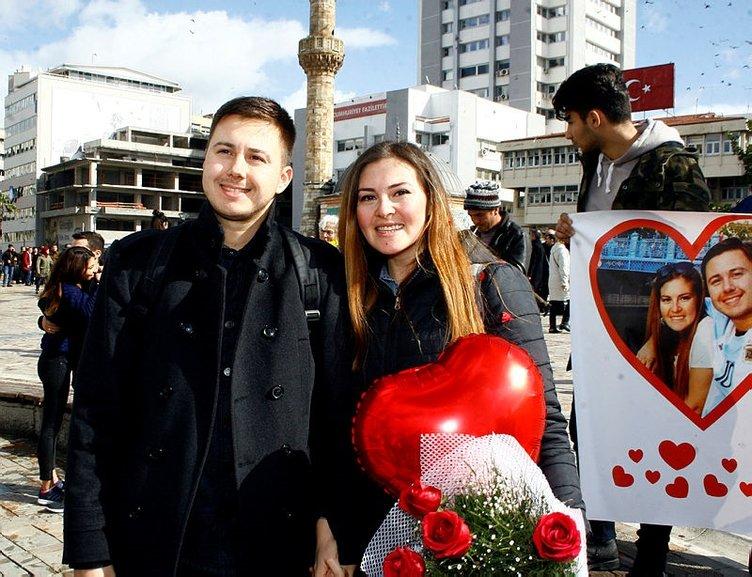 İşte tüm dünyadan Sevgililer Günü manzaraları!