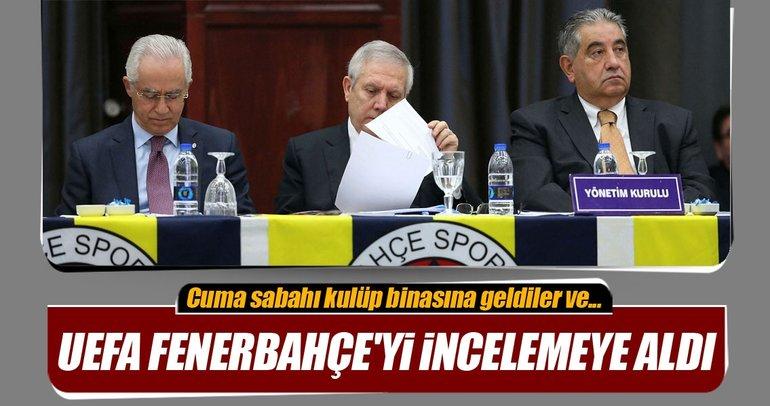 UEFA heyeti, Fenerbahçe için geldi