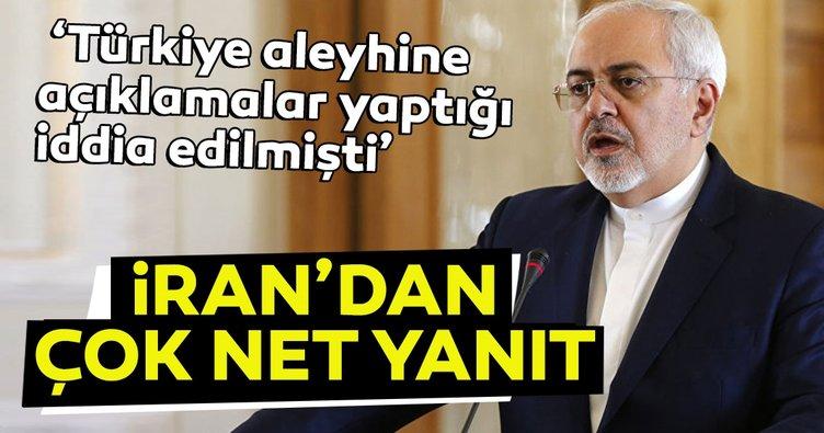 Son dakika: İran Dışişleri Bakanı Cevad Zarif'in Türkiye aleyhine yaptığı iddia edilen açıklama yalanlandı