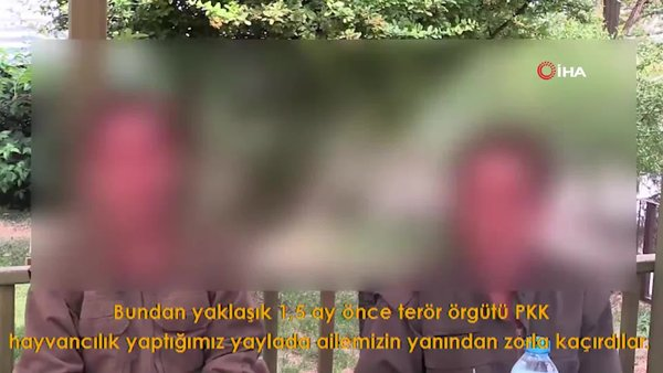 Şırnak'ta PKK'dan kaçan kız çocukları gördükleri işkenceyi anlattı
