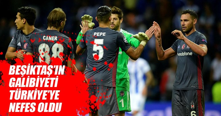 Porto zaferi nefes aldırdı