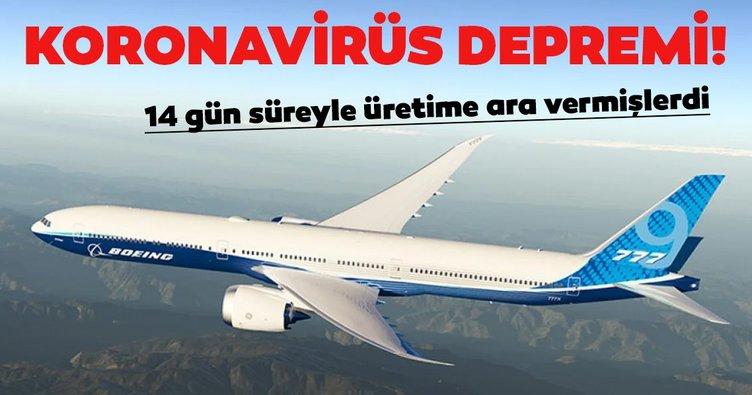 Boeing, coronavirüs nedeniyle işten çıkarma yapacak
