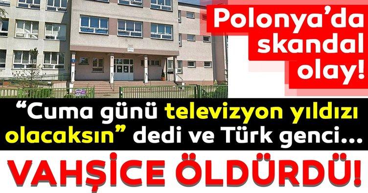 Son Dakika Haber |Polonya'da skandal olay! 16 yaşındaki Türk çocuğu okulda öldürüldü!