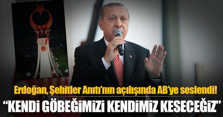 Cumhurbaşkanı Erdoğan Avrupa'ya seslendi