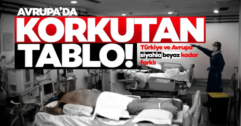 Son dakika | Avrupa'da korkutan açıklama, Türkiye'de fark!