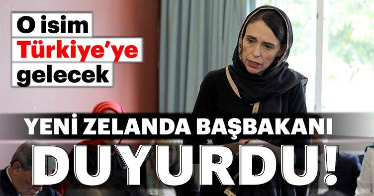 Yeni Zelanda Dışişleri Bakanı Türkiye'ye gelecek