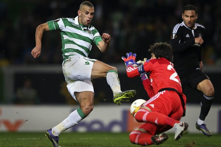 S. Lizbon Beşiktaş maçının kareleri