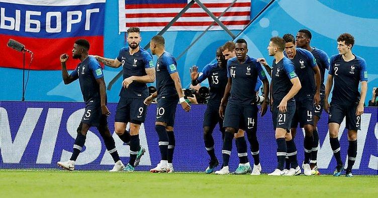 Dünya Kupası'nda Afrikalı Fransa finalde