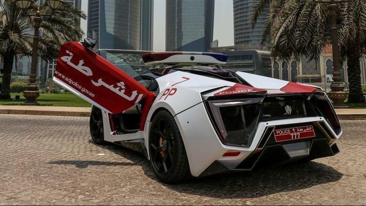 Dubai polisinin yeni aracı Lykan HyperSport Special Forces