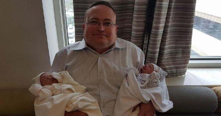 Koronavirüsten ölen doktor, ikizlerine doyamadı