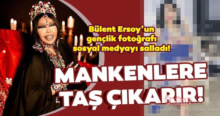 Bülent Ersoy'un gençlik fotoğrafı sosyal medyayı salladı! Bülent Ersoy o yıllarda mankenlere taş çıkarıyormuş...