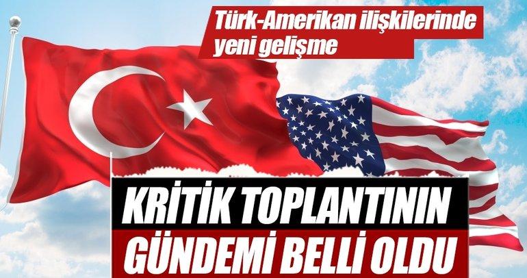 Türkiye - ABD arasındaki ilk toplantıda gündem Suriye