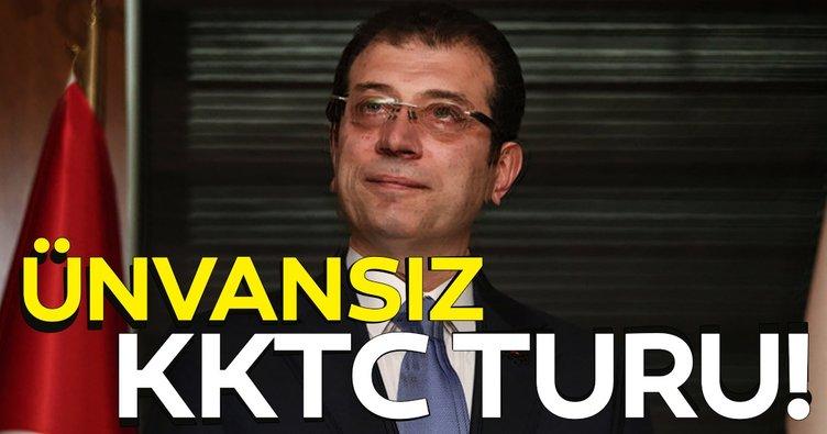 Dilek Güngör yazdı: İmamoğlu'nun ünvansız KKTC turu!