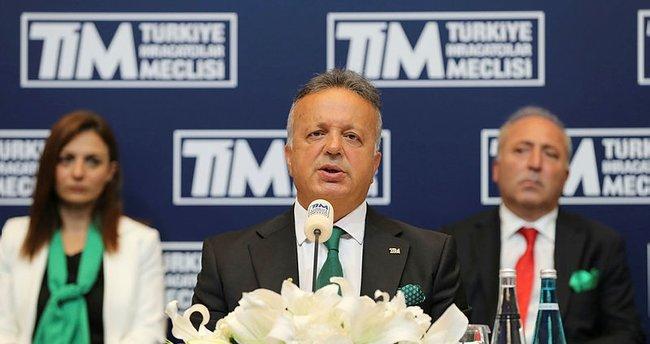 TİM Başkanı İsmail Gülle'den ihracat açıklaması