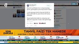 Hazine ve Maliye Bakanı Berat Albayrak'tan faiz mesajı! | Video