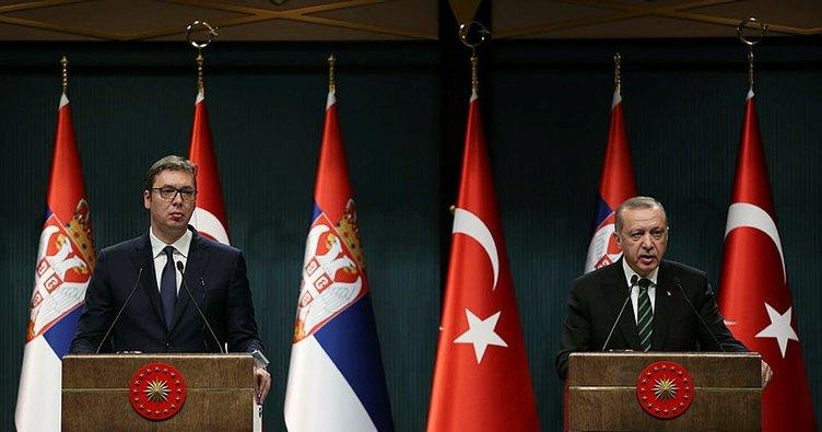 Cumhurbaşkanı Erdoğan: Sırbistan'ın FETÖ ile mücadelede desteğini unutmak mümkün değil