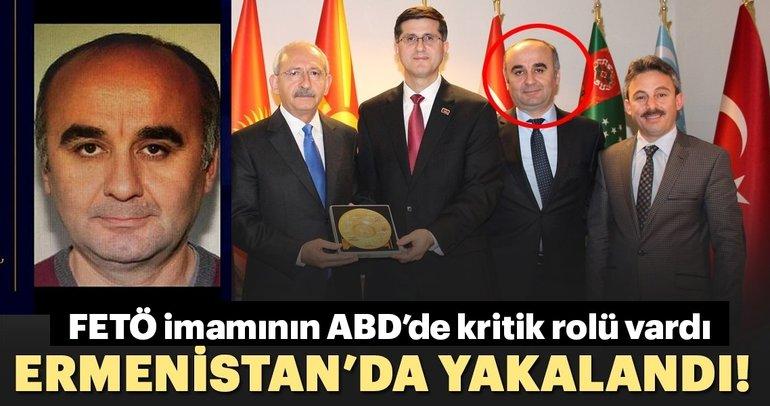FETÖ'cü Kemal Öksüz Ermenistan'da yakalandı