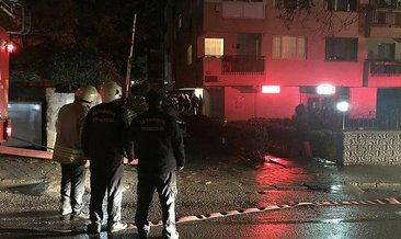 Kadıköy'de 8 katlı binada yangın paniği