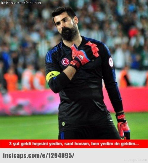 Manchester United-Fenerbahçe maçı capsleri