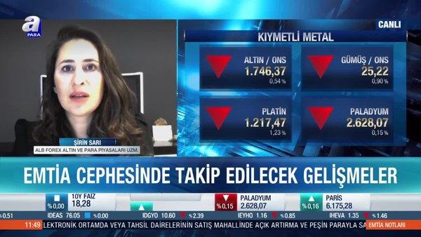 Şirin Sarı: Ons altın 1760 dolar seviyesi kritik