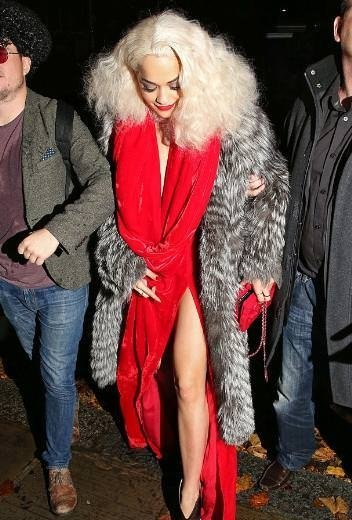 Rita Ora doğum gününü böyle kutladı