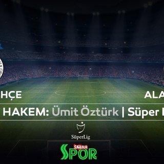 Süper Lig'de Fenerbahçe, Alanyaspor'u konuk ediyor