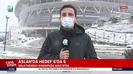 Galatasaray Kasımpaşa maçı ertelenecek mi? İşte Türk Telekom Stadyumunda son durum