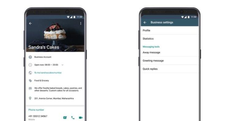 WhatsApp'tan küçük işletmelere WhatsApp Business uygulaması