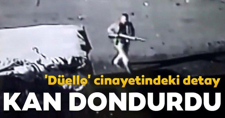 'Düello' cinayetindeki detay kan dondurdu