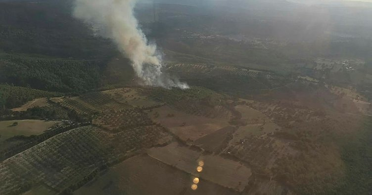 Yangın bitti nöbet devam ediyor