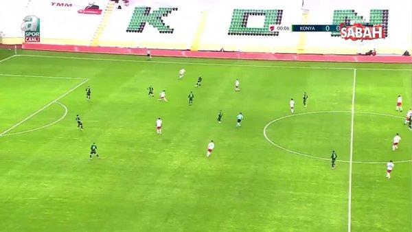 Konyaspor 2 - 1 Gaziantep FK MAÇ ÖZETİ (Ziraat Türkiye Kupası Son 16 Turu Maçı) / 13.01.2021