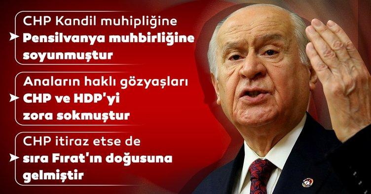 MHP Genel Başkanı Devlet Bahçeli CHP ve İmamoğlu'nu eleştirdi
