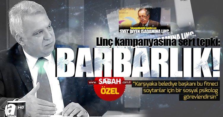 'EVET' linçine İzmir Milletvekili Kocabıyık'tan sert tepki: Boykot varsa Millet de var