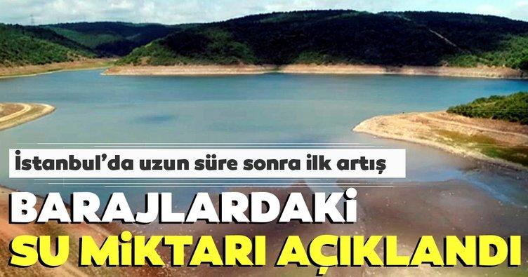 Son dakika haberi: Yağışın ardından İstanbul barajlarındaki son durum açıklandı!