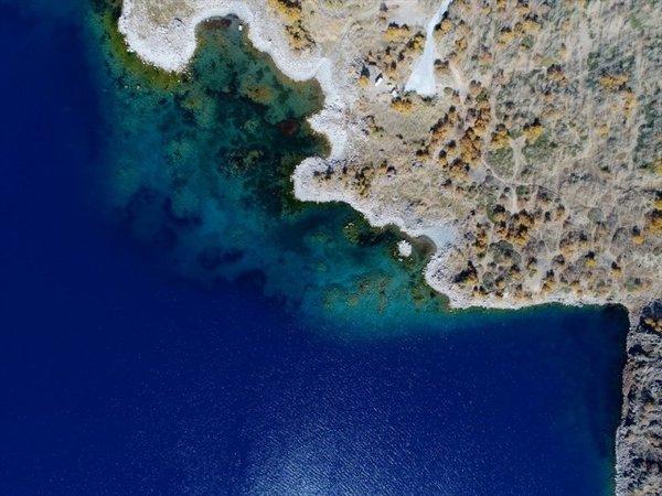 Türkiye'nin en büyük krater gölü