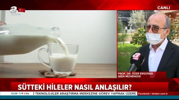 Son dakika haberi: Süte neden çamaşır suyu katıyorlar? Sütteki akılalmaz hileler nasıl anlaşılır?    Video