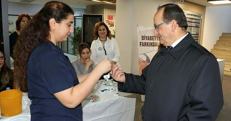 Manisa Büyükşehir Belediyesinden vatandaşlara diyabet testi