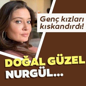 Nurgül Yeşilçay sosyal medyada genç kızları kıskandırdı!