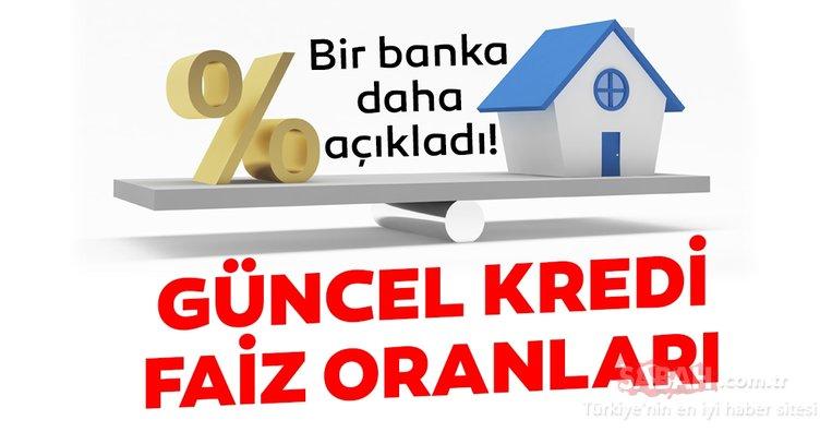 Son dakika haber: Kredi faiz oranlarında bir indirim daha! Akbank, Vakıfbank, Ziraat Bankası, Garanti konut - ihtiyaç kredisi faiz oranları
