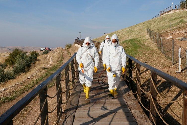 Tarihin sıfır noktası Göbeklitepe dezenfekte edildi