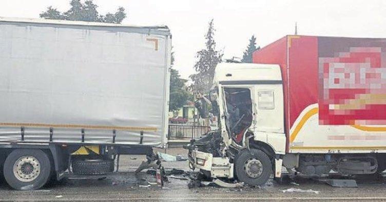 Manisa'da trafik kazası: 1 kişi öldü
