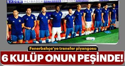 Fenerbahçe'ye transfer piyangosu! 6 kulüp onun peşinde