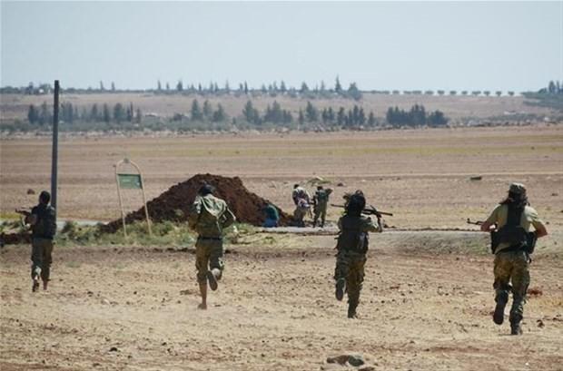 DAEŞ 'den arındırılan sınırdan ilk görüntüler