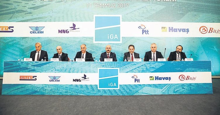 Yeni Havalimanı'nda 250 milyon euroluk imza