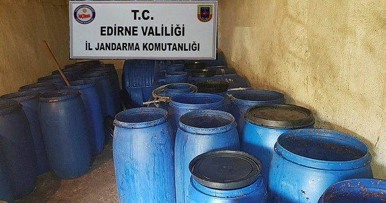 17 bin litre kaçak içki ele geçirildi