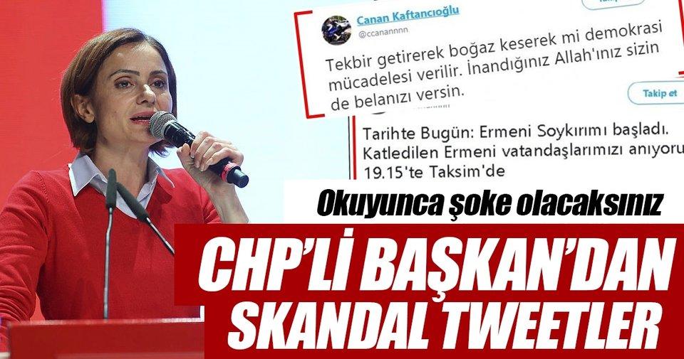 Canan Kaftancıoğlu'nun skandal tweetleri - Son Dakika Haberler