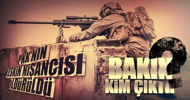 PKK'nın keskin nişancısı kadın çıktı!