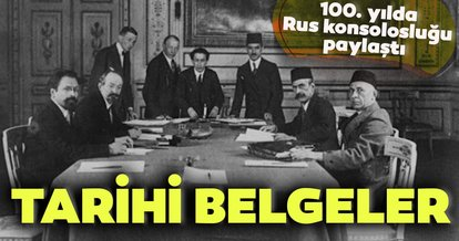 100. yılda Rusya'dan bir tarihi belge daha