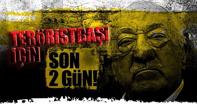 'Gülen'in ABD'de tutuklanma talebine 1-2 gün içinde yanıt gelmesi bekleniyor'